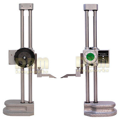 Double Dual Twin Beam 18 Dial Height Gage Gauge .001 Digital Digit Counter