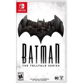 SWITCH Batman the TellTale Series