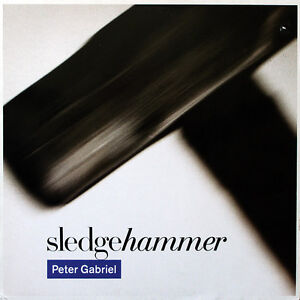 PETER GABRIEL, Sledgehammer, Pop Rock, 1986 vinyl records