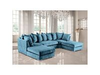 ✨Brand New Ushape Corner Sofa Available In Lowest Price ✨Free Shipping All Over Uk💫