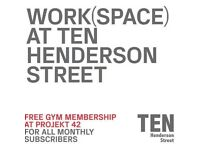 Shared office - desk space £120 per month