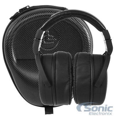 XPT100 Audiophile Over-Ear Pro Studio Monitor Headphones + Leather Hard Case