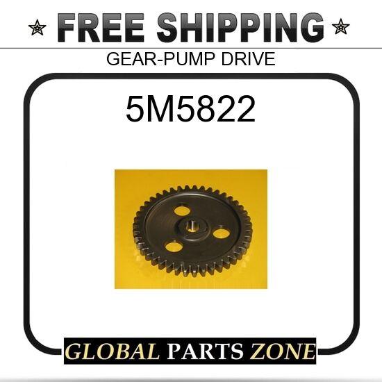 5M5822 - GEAR-PUMP DRIVE 2474120 1P6160 for Caterpillar (CAT)