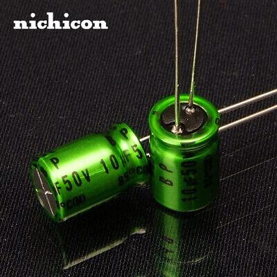 10pcs Nichicon Muse Es Bp 10uf 50v Stepless Audio Capacitor