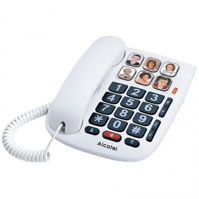 Telefono Fijo con Cable Alcatel TMAX 10 con Teclas Grandes para Personas...