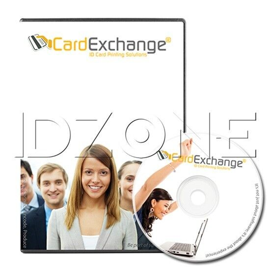 CardExchange 9 Go ID Card Software - CE8020