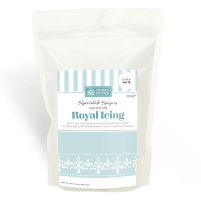 Professional White Royal Icing Instant Mix - 500g By Squires Kitchen
