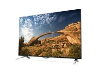 60 inch 4k lg smart ultra hd tv in excellent condition