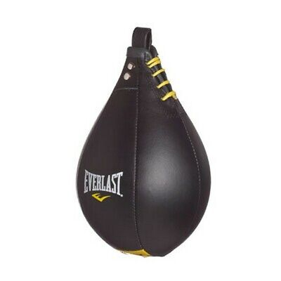 Everlast 4242 Leather Speed Bag Black Large