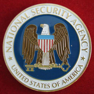 US National Security Agency NSA Challenge coin 62