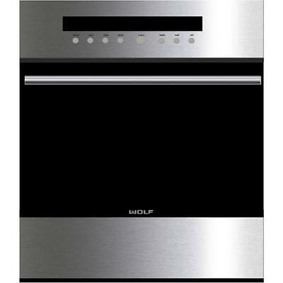 Wolf 24 Built-in Single Oven E Series Transitional Tubular Hand So24testh