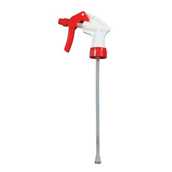 """Impact Products I5906 Trigger Sprayer In Red/White, 9-7/8"""" Tube, Pack of 4"""