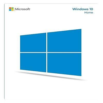ORIGINAL WINDOWS 10 HOME 32 /64BIT OEM GENUINE LICENSE KEY SCRAP PC