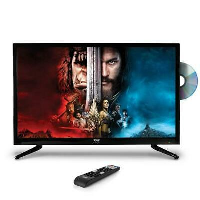 Pyle PTVDLED32 32'' LED TV - 1080p HDTV with Built-in DVD Player