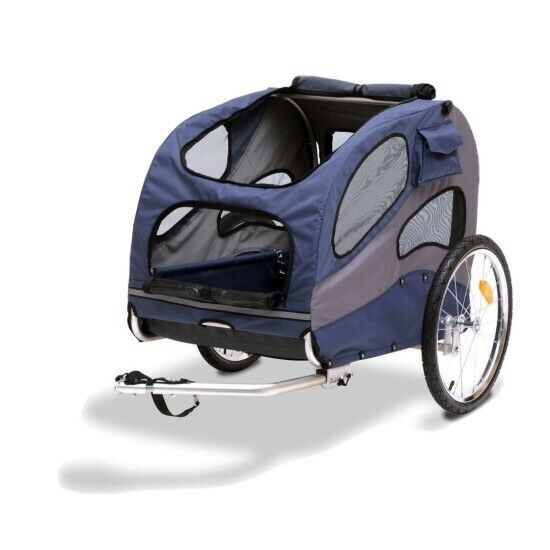 PetSafe, Happy Ride Dog Bicycle Trailer - Blue Color - Large Size! New In Box!!