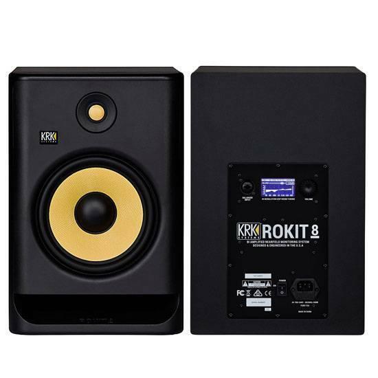 Krk RP8 G4 Rockit Studio Monitor Active New Warranty