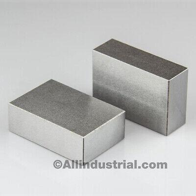 Matched Pair Ultra Precision 1-2-3 Blocks No Holes .0001 Machinist 123 Jig