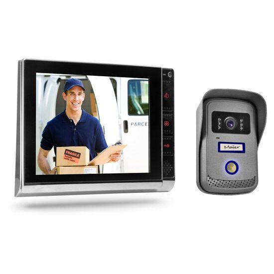 """8"""" Video Türsprechanlage Gegensprechanlage Sprechanlage mit Bildspeicher Monitor"""