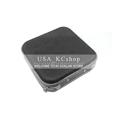 New 40 Disc CD DVD VCD Storage Organizer Portable Video Case Bag Box Holder