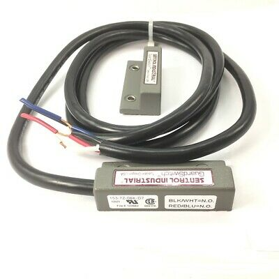 Industrial Magnet Switch Dpst 3a 184 Cable Ip67 - 2ft Cord