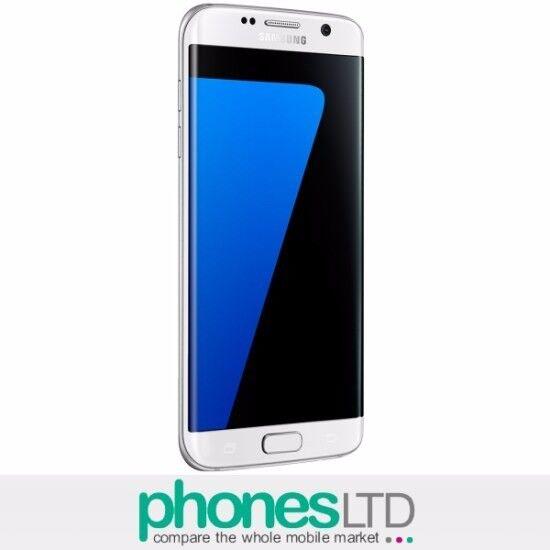 SAMSUNG GALAXY S7 EDGE 32GB WHITE ON EE - BRAND NEW