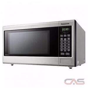 New Panasonic Microwave 1.2CU Steel : NN-ST696S