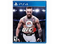UFC 3 for PS$