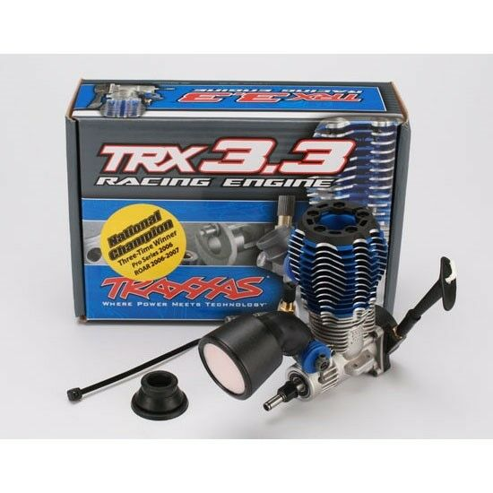 Traxxas TRX 3.3 Racing Engine w/Pull Start for T-Maxx Revo Jato - 5407