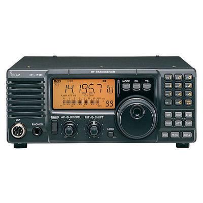 ICOM IC-718 100 Watts HF Amateur Base Transceiver