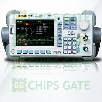 1pcs Rigol Waveform Generator Dg 5072 70mhz 1gsas 14bits 128mpts 2 Channels