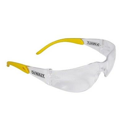 Dewalt Safety Glasses Protector Clear Lens 12 Pair Lot
