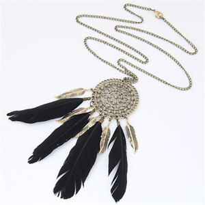 Brand new Long Feather Necklace
