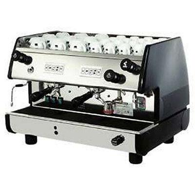 La Pavoni Commercial Espresso Machine Maker BAR-T 2V-B Black 2 Group Volumetric