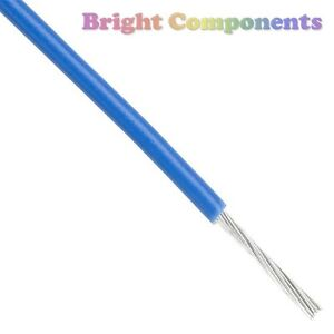 2m-Blue-Equipment-Wire-7-0-2mm-General-Use-1st-CLASS-POST
