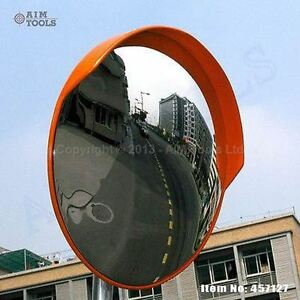 457127 traffic wide angle security curved convex road for Mirror 80cm wide