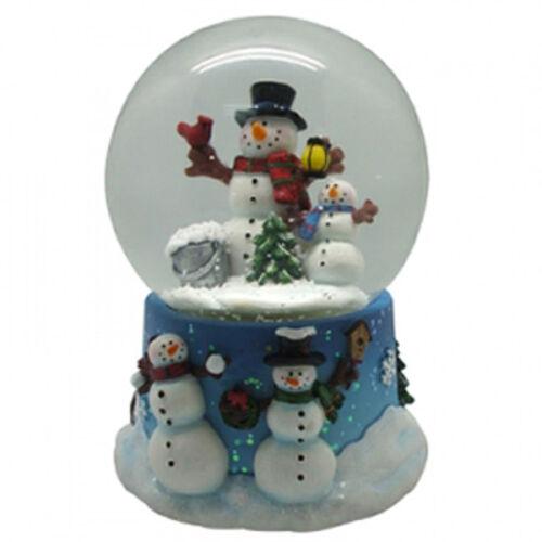 Christmas Snowman Musical Water Globe Winter Holiday Decor