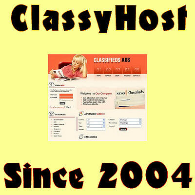 Professional Classifieds Ads Website Business. Online Earnings Google Adsense