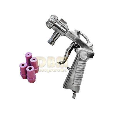 Sandblaster Air Siphon Feed Blast Gun Nozzle Ceramic Tips Abrasive Sand Blasting