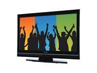 Refurbished 6 Months Warranty Technika 32 Inch Flat Screen TV, Freeview, HD Ready, HDMI. VGC
