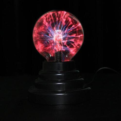 USB Plasma Ball Sphere Lightning Light Magic Crystal Lamp...