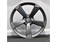 """20"""" TTRS Style Alloy Wheels. Suit Audi A4, A5 & A6 (5x112)"""