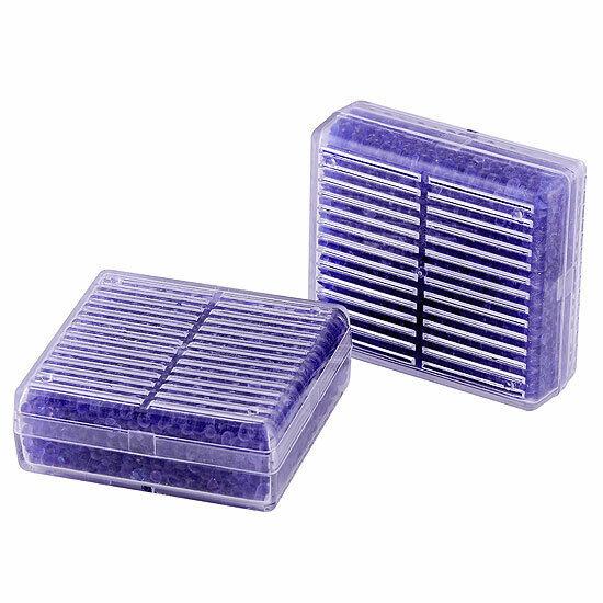 2x Reusable Silica Gel Desiccant Humidity Moisture Absorb Box Dehumidifier