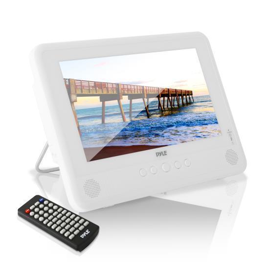 Pyle Waterproof 10'' Portable DVD Player, Built-in Recha