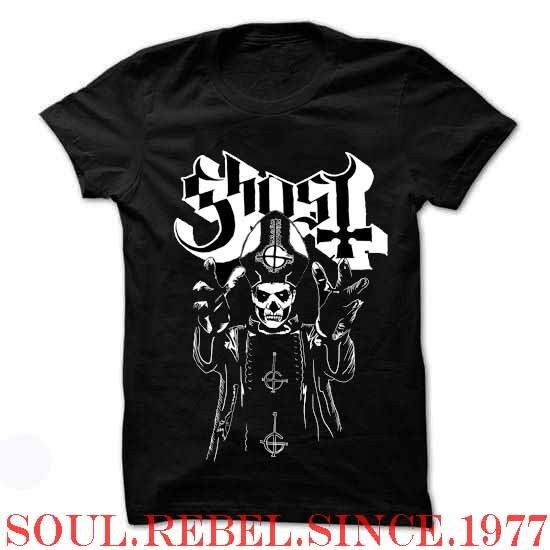 GHOST  PUNK ROCK BAND T SHIRT MEN'S SIZES