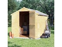 New 8x6 shed with free delivery