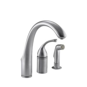 Kohler 10430-G Forte Single-Control Remote Valve Kitchen Sink Fa