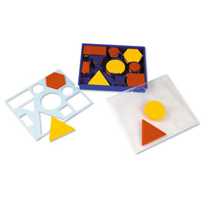 Learning Resources - Maths Attribute Blocks Set Inc plastic storage tray LER1270](Learning Resources Inc)