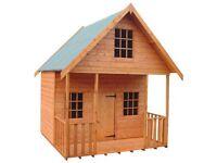 Kids Wooden garden playhouse