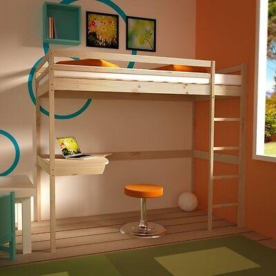 Hochbett inkl. Schreibtisch Etagenbett Spielbett Stockbett Kinderhochbett Neu