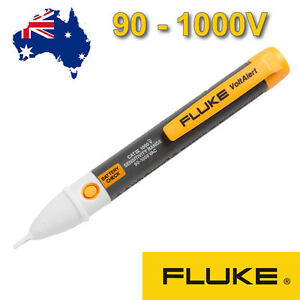 * 90-1000V * Fluke 2AC VoltAlert Non-contact AC Volt Stick Detector Tester OZ